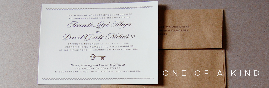 Amanda and Grady Invitation